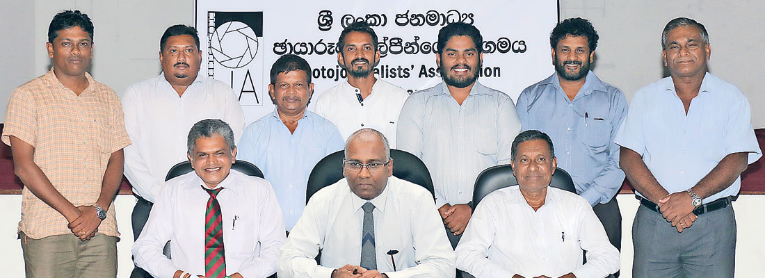 Photojournalists Association office-bearers