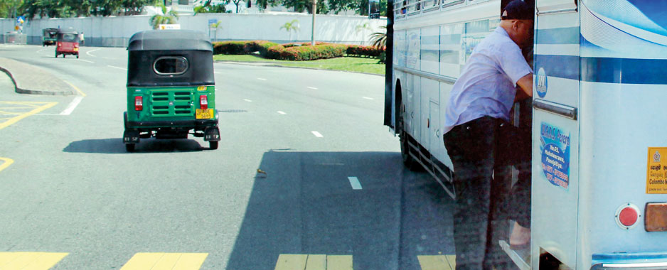 Duelling buses cause a death every day