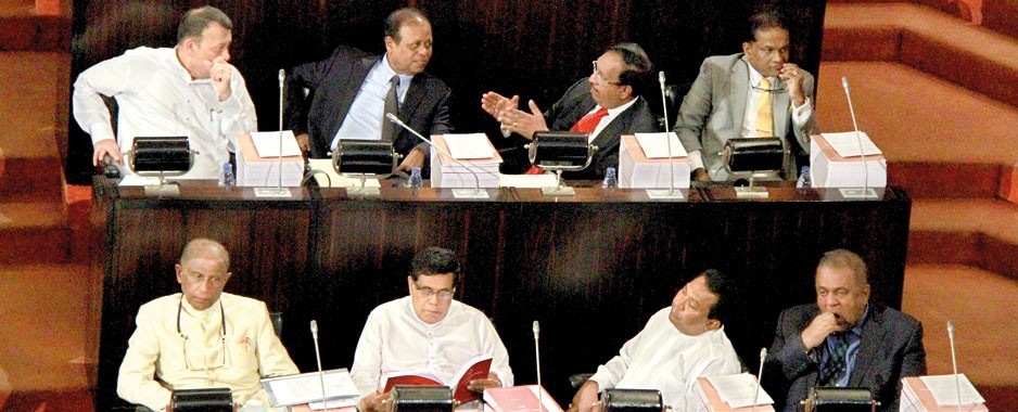 UNP-SLFP relations on a political see-saw