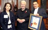 Sri Lankan Anchorman Editor wins Toronto press award