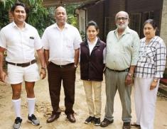 Sri Lanka's first female 'sinna dorai'