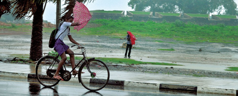 N-E monsoon can bring heavy falls everywhere
