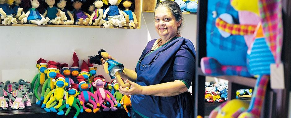 Sandra's goal: Enriching and empowering rural women