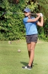 Taniya and Kayla for  All India Amateur Golf Championships