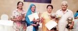 Winners of senior citizens' Scrabble Tournament