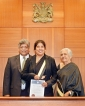 Lankan Supreme Court lawyer  admitted as Solicitor in Australia