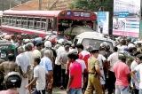 11 killed in van-bus collision in Chavakachcheri