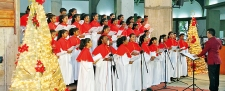 Christmas Carols at the Cathedral of Christ the Living Saviour