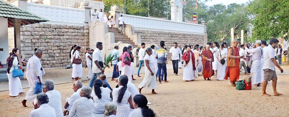 Religious observances, charity,  dinner-dances herald 2017