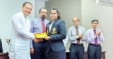 Carrom and Weightlifting teams felicitated