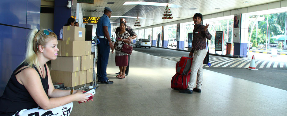 Sri Lanka's main airport begins  night-time-only flight operations
