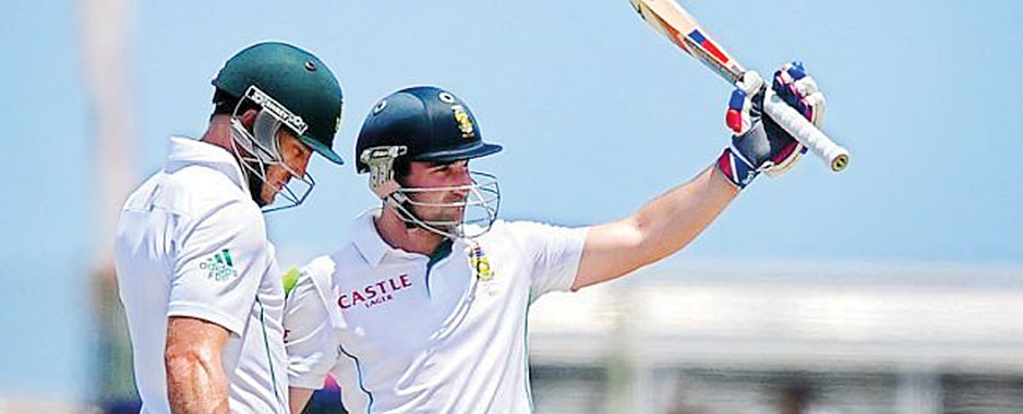 Dean Elgar's crusade against the Lankans and Angelo's follies