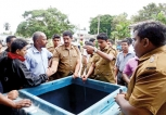 Beruwala: Anchored boats in harbour breeding mosquitos