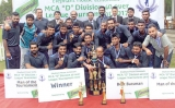 CDB Champs with 2-wicket win over Kanrich Finance 'B'