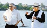 Sail Lanka Charter hosts Ranil and  wife on board latest luxury catamaran