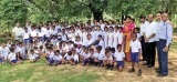 Musical instruments, sports goods donated to Sigiriya children by STBC