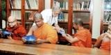 Monks on Dhammadutha service