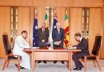 SL, Australia sign Sports  Development programme