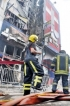 Shop in Maharagama town damaged by fire