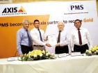 PMS becomes  first Axis partner to receive 'Gold'