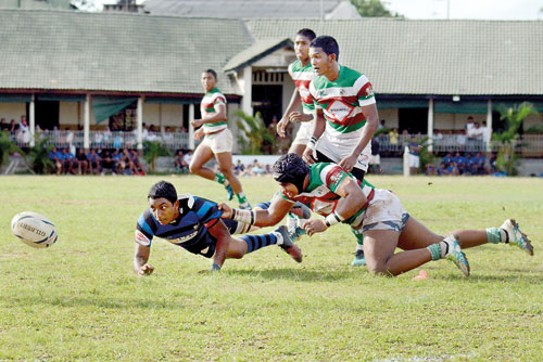 Schools Rugby is not child's play or Authorities' plaything