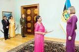 Estonian President receives Lanka's envoy