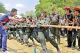 Women troops in Avurudu mood