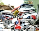 Dumping  ground for old, imported vehicles