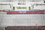 N. Korea leader oversees special forces op as tensions soar