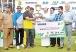 Yatiyana YCC overall  winners richer by Rs 250K