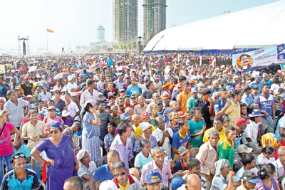 Galle Face blues: Rajapaksa's May Day force jolts Govt.