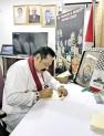 Mahinda expresses solidarity with  Palestinian hunger strikers