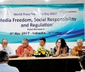SLPI marks Press Freedom Day with panel discussion