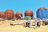 Construction of LAUGFS LPG Terminal in Hambantota on track