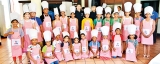 Cookery class for Hilton Kids Club