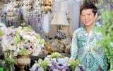 Indonesian floral expert at 'Floral Magic'