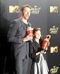 Hugh Jackman's 'Logan' co-star Dafne Keen steals the  spotlight during MTV Awards Acceptance speech
