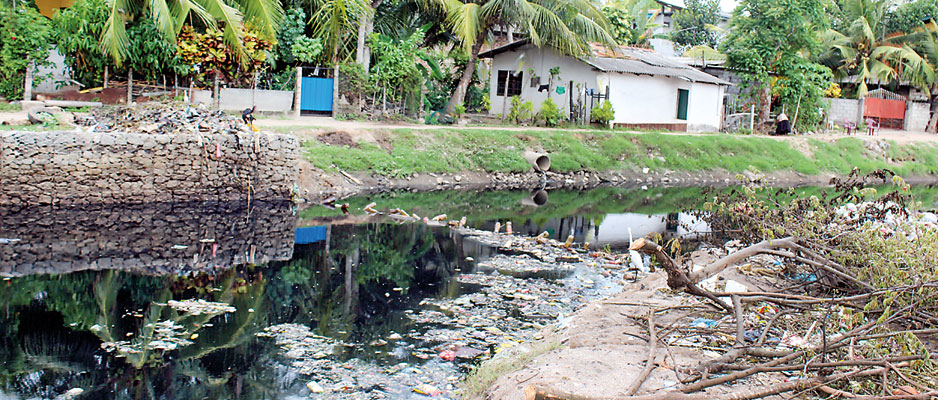 Lunawa lagoon –an environmental nightmare