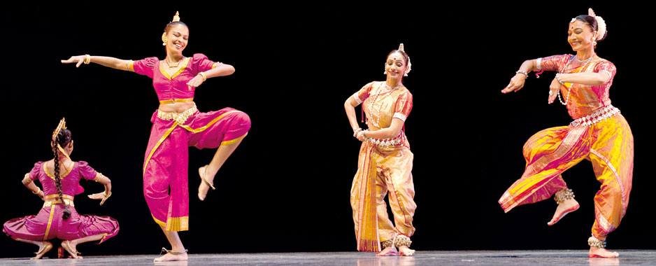 Await the dramatic union  of Kandyan and Odissi