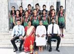 The St. Bridget's Convent Under-15 Basketball team runners-up