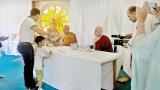 Berlin Vihara marks Vesak amdist large gathering