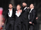 Boyzone to tour in 2018