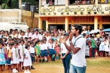 N-S UCM Train for Humanity 'rescues' Matara school