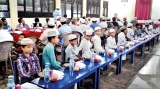 Iftar at multi-religious school