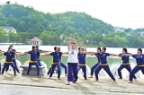 Int'l Yoga Day marked with  series of events in Kandy