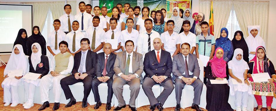 170 Jinnah Schols from Pakistan for Sri Lanka's GCE O/L, A/L students