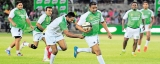 Rugby superstars give Milo Whites a thrilling win