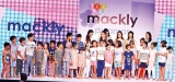 Mackly Sleepware launched their children's fashion show