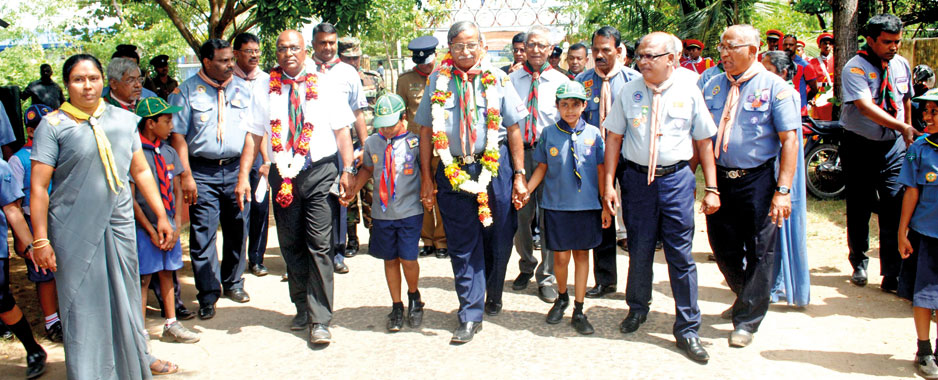 """Gilwell Re-union"" in Batticaloa by Sri Lanka Scout Association"
