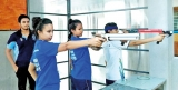 Training sessions in Air Rifle and Air Pistol Shooting for Varsity Students